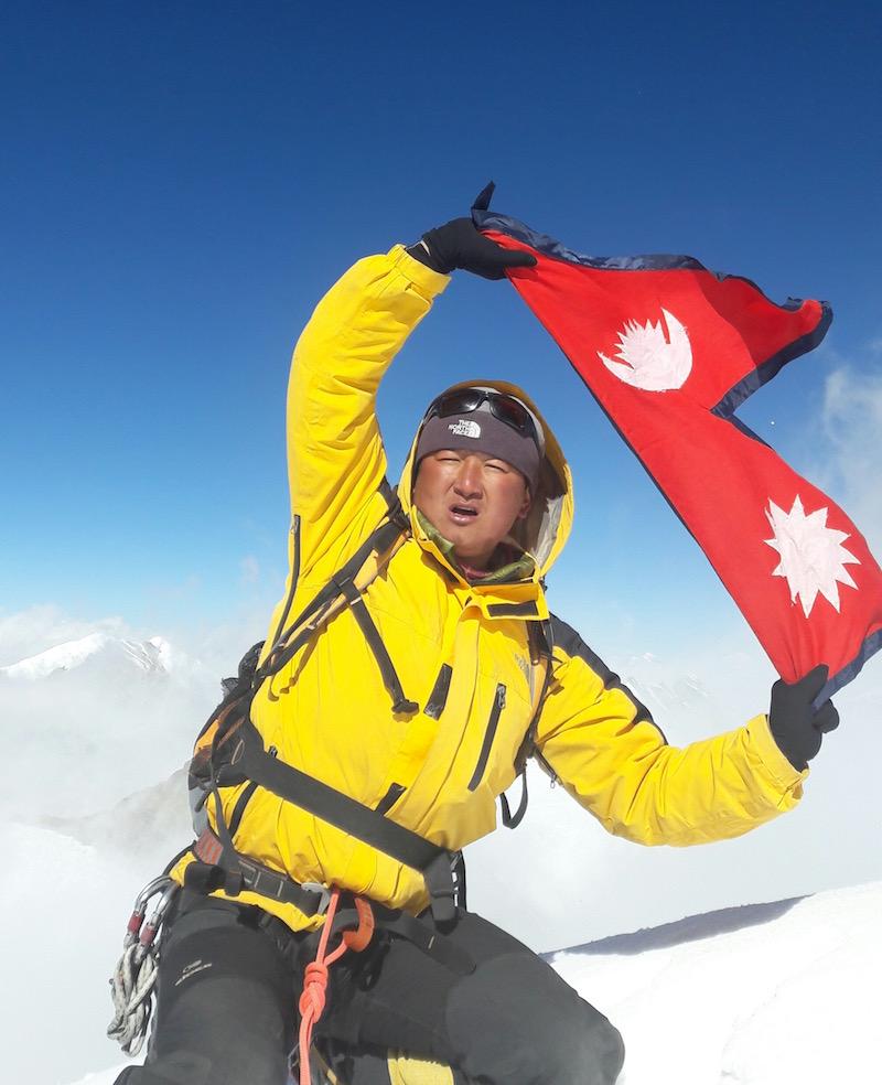 Jangbu Sherpa de Cheskam dans le Solu Khumbu
