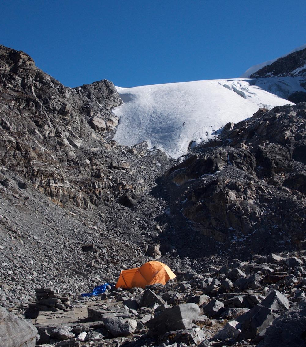 Le début de l'itinéraire vers le glacier