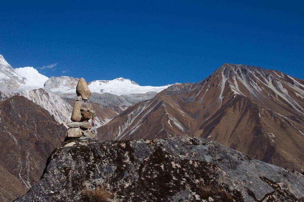 Tsergo Ri et gala Peak, deux petits sommets à enchaîner avant le Gangja La Peak pour un programme idéal.