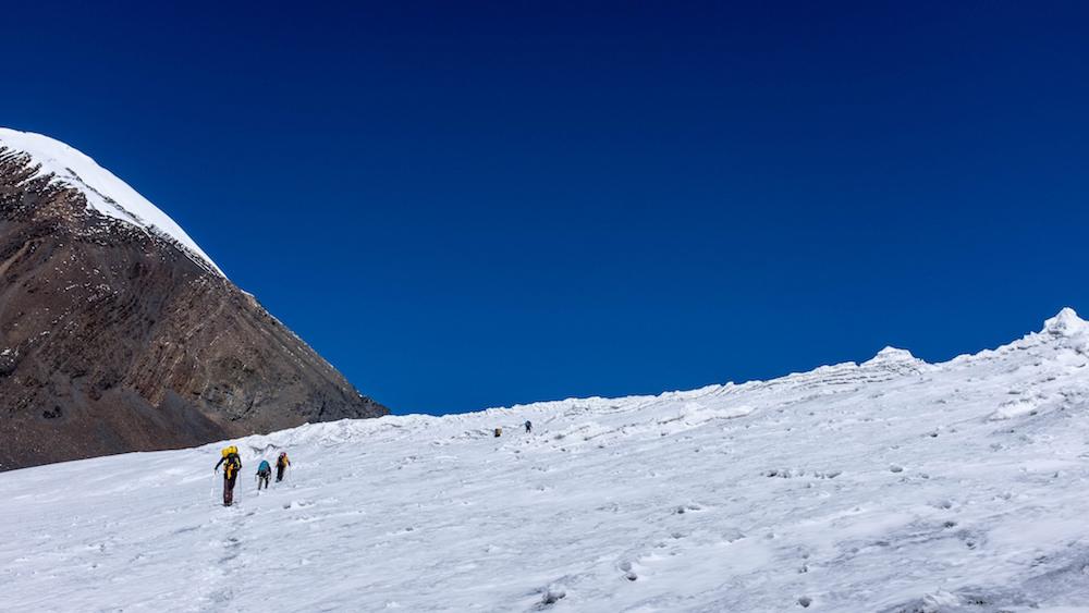 Le début du Glacier Blanc. Un parcours très agréable.