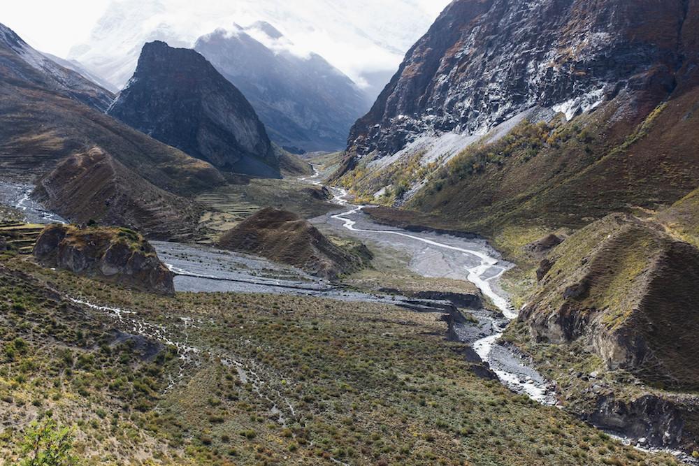 Une ambiance très particulière pour une vallée bien cachée.