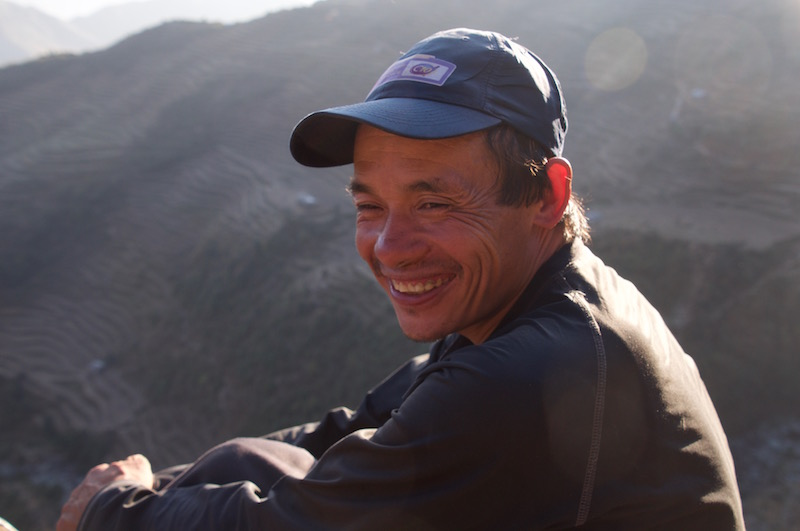 Urpa, lors de notre trek de Gosainkunda à Nuwakot.