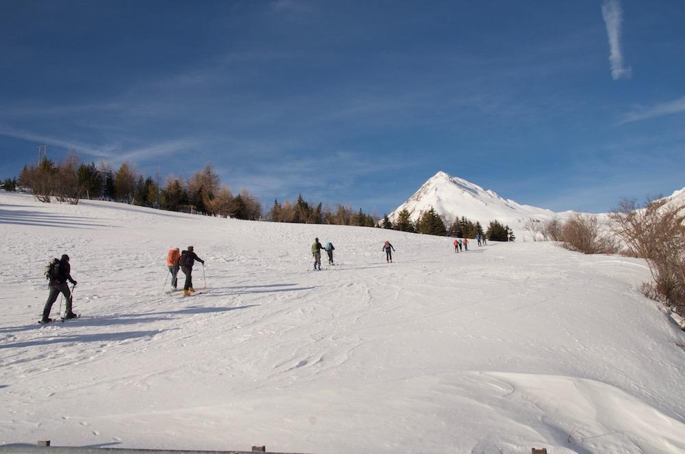 Un départ en douceur pour le Pic Blanc du Galibier depuis le deuxième parking.