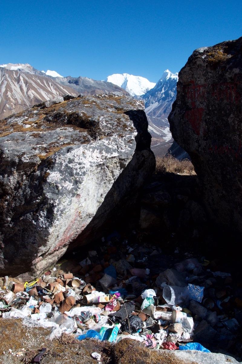 Rebbish in Himalaya
