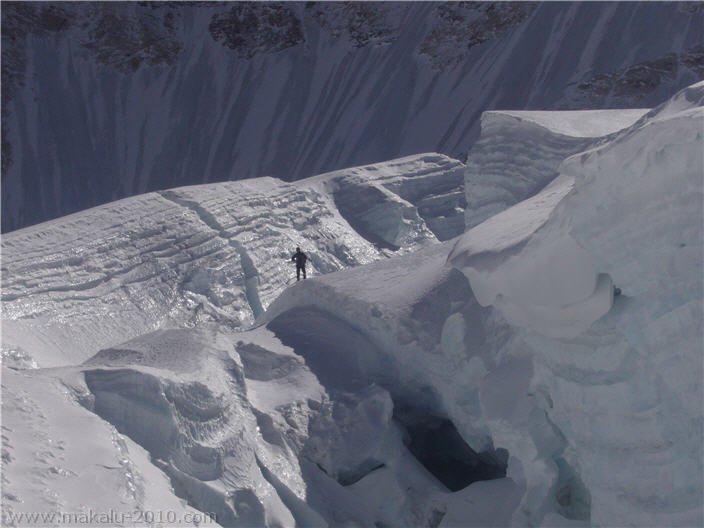 Makalu, on the glacier.