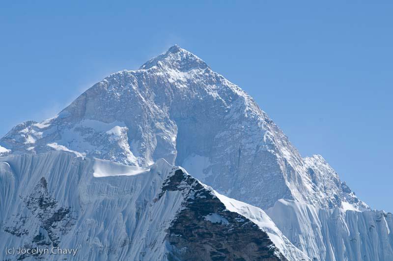 Makalu from Khumbu