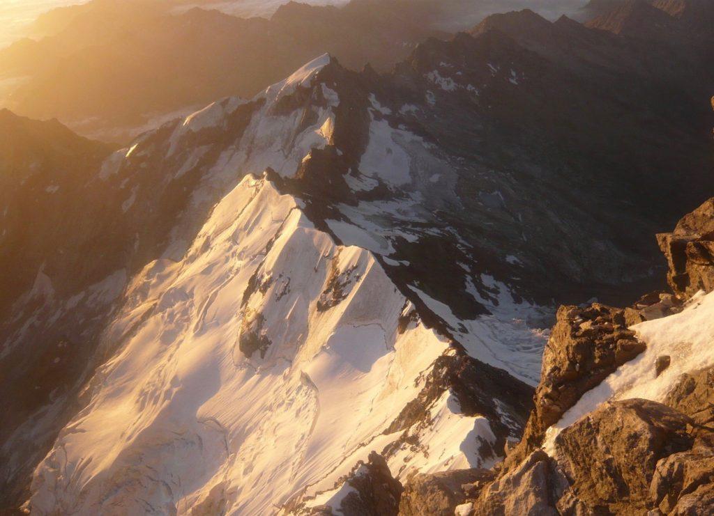 Mont Rose, Cresta Signal