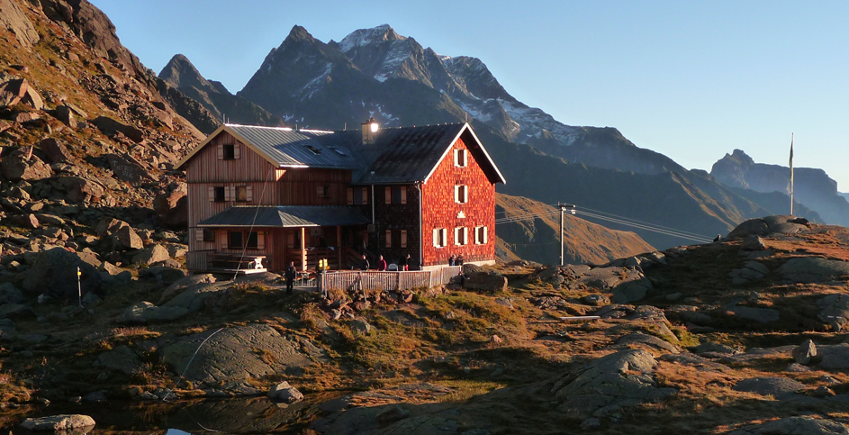 randonnée glaciaire en Autriche. Stubai