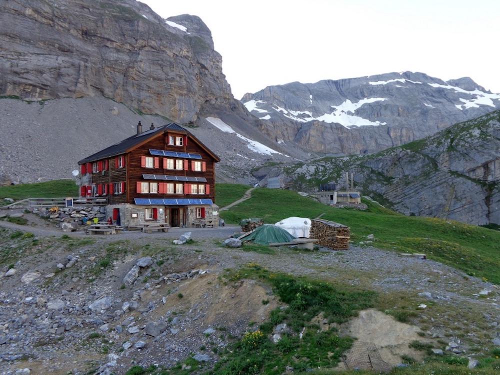 randonnée glaciaire en Suisse