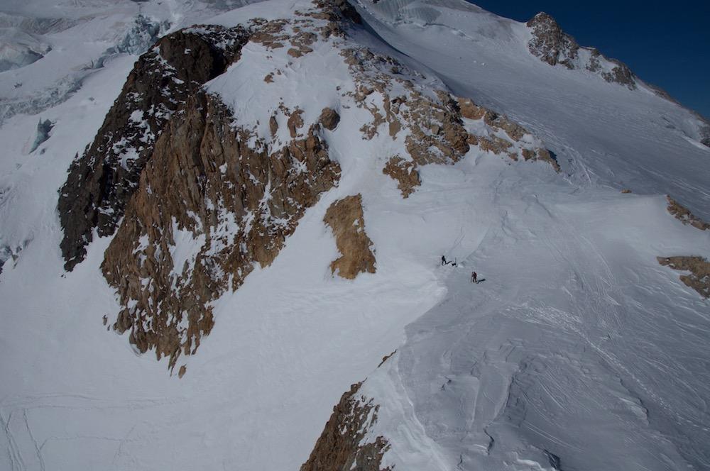 le Tour d ela Meije à ski