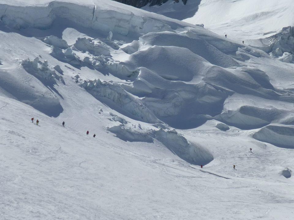 le Mont Blanc à ski
