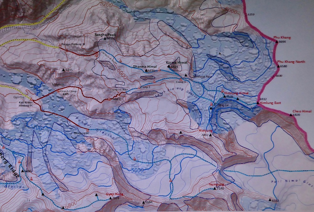 La traversée de l'Himlung