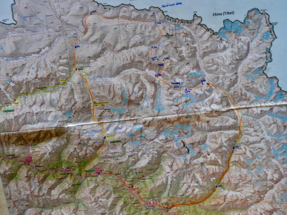 La Haute route du Changwathang
