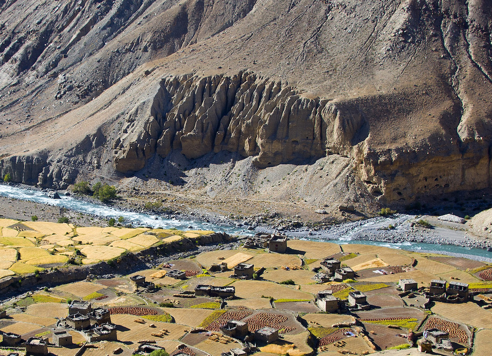 Ku village Upper Dolpo