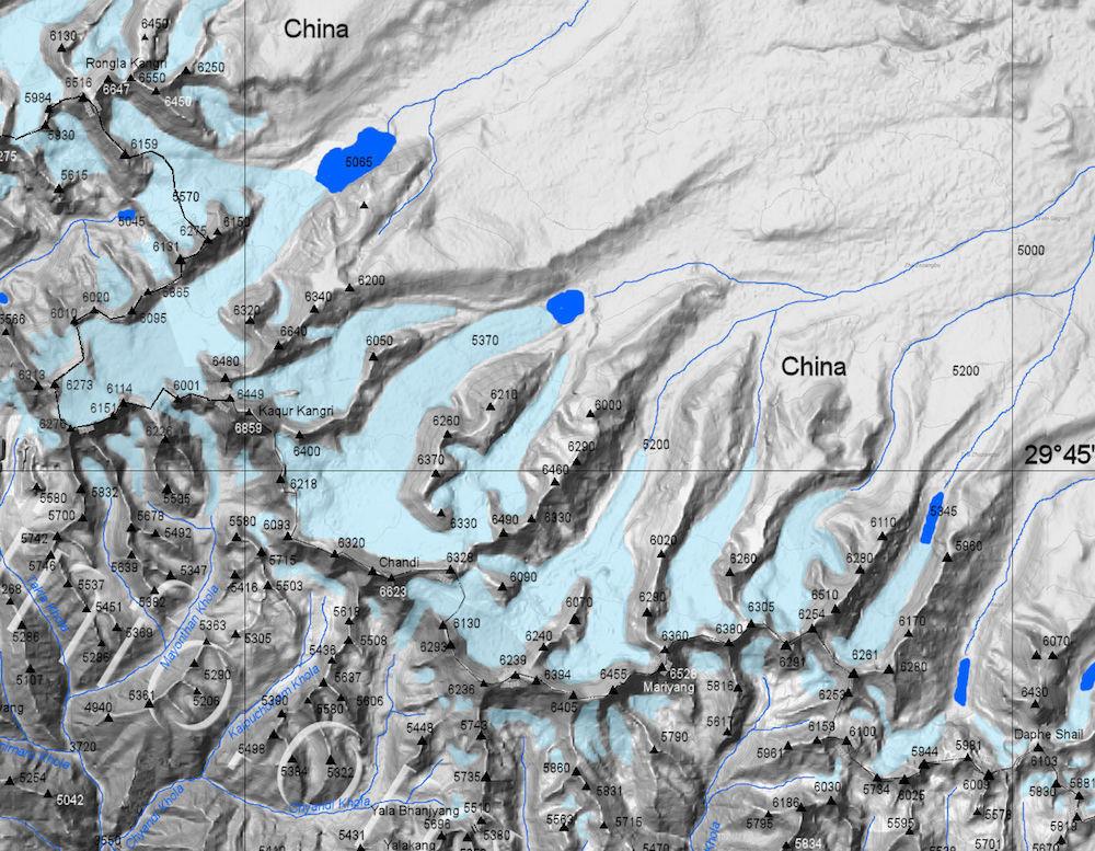 danphe shail map