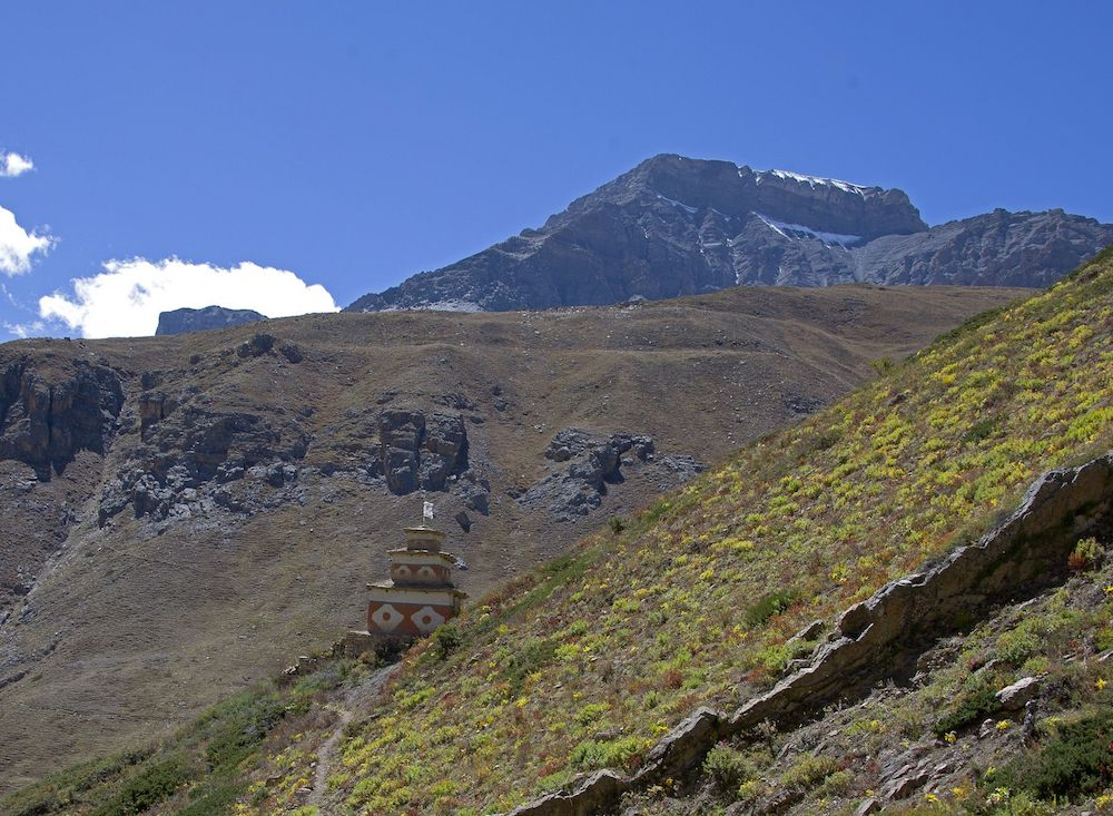 Le pèlerinage de la montagne de Cristal