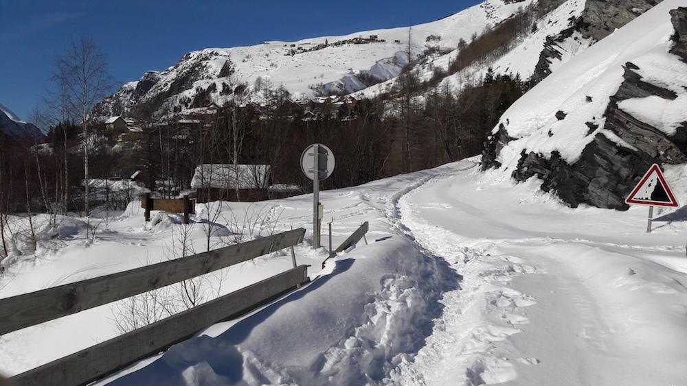 ski de rando à La Grave