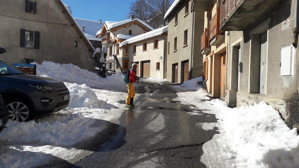 ski de randonnée au Pays de La Meije