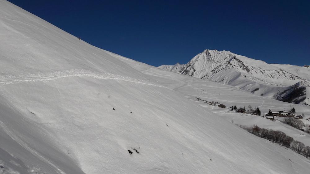Randonnée à ski à La Grave