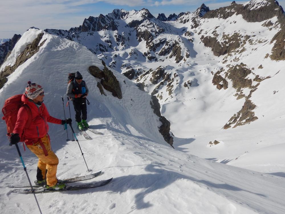 la GTA à ski