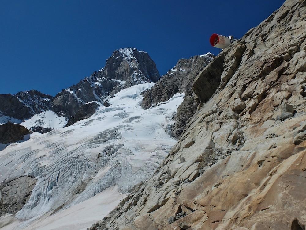 le TMB par les glaciers