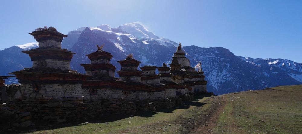 himlung expédition, vers le village d e Naar
