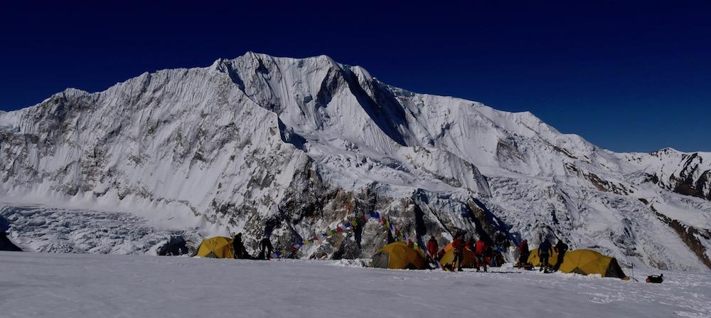 Himlung Camp 2avec le Gyaji Kang
