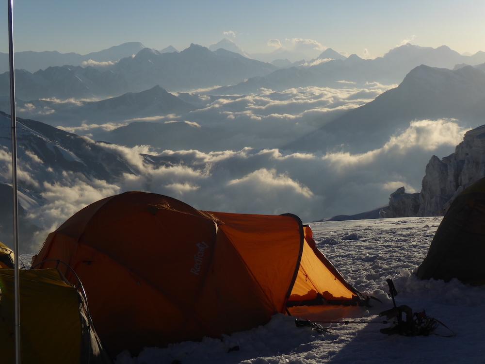 Himlung 2019, ambiance en altitude
