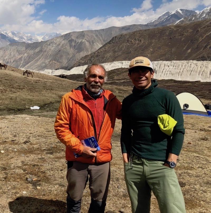 Hana Tani,climber fromJapan avec Paulo Grobel