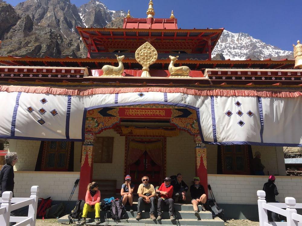 himlung expedition, the monastery between meta and naar
