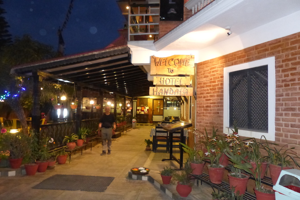 Kathmandu, hotel Mandala Bouddhanath