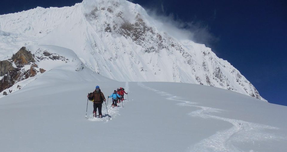 manaslu ski expedition2020