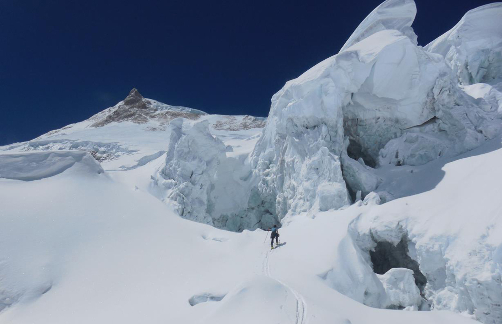 ascension du Manaslu