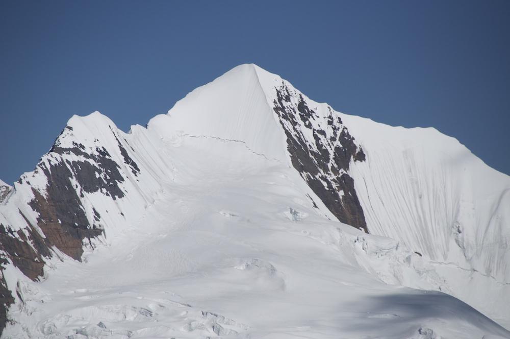 le sommet du Sanctuary Peak