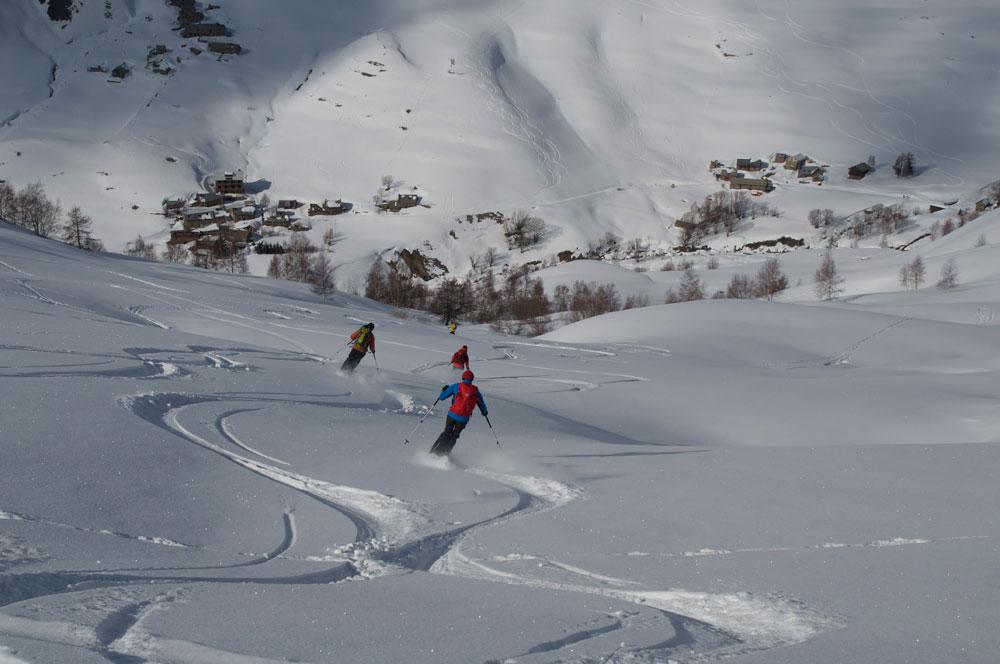 ski de randonnée à La Grave avec Paulo Grobel
