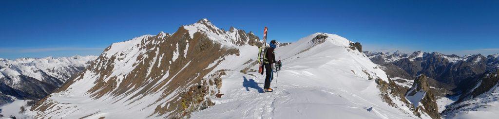 la grande traversée des Alpes à ski
