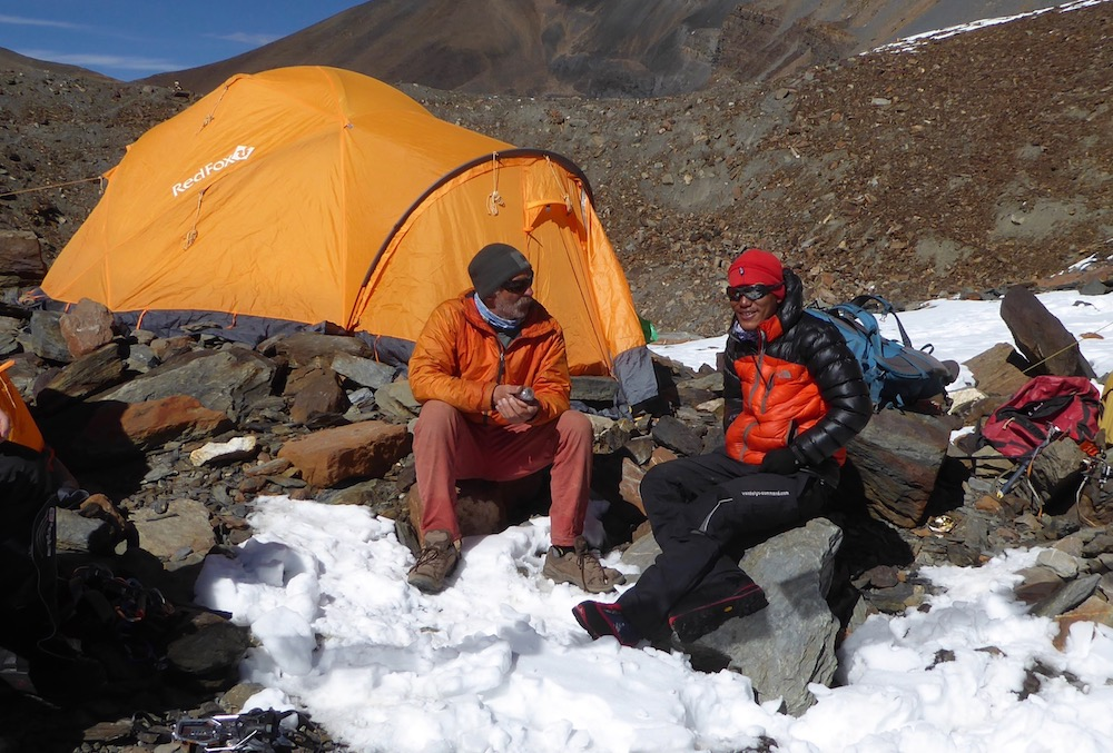 Gyaekochen Base Camp