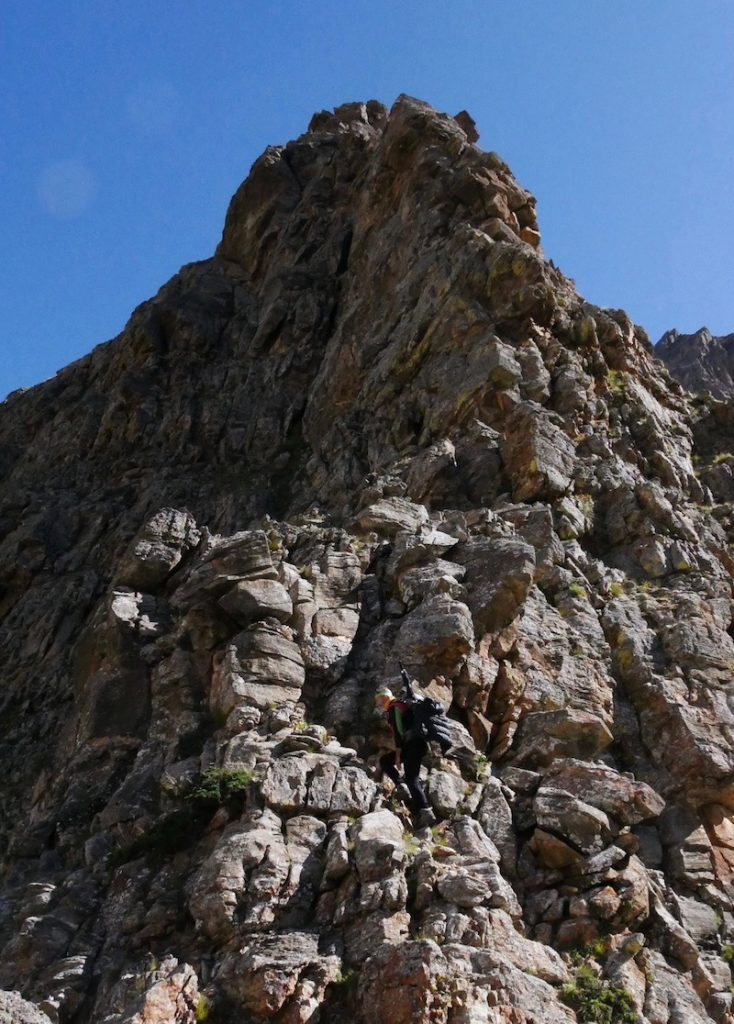 nepal climbing camp kiang