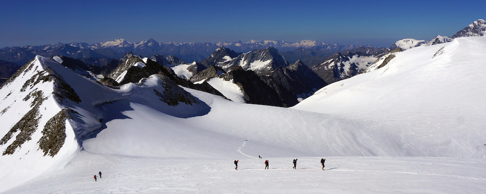 Progression sur glacier et sauvetage en crevasse