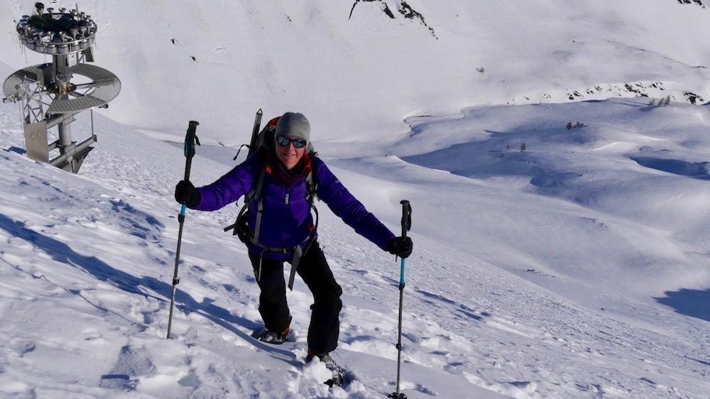 Alpinisme hivernal à La Grave