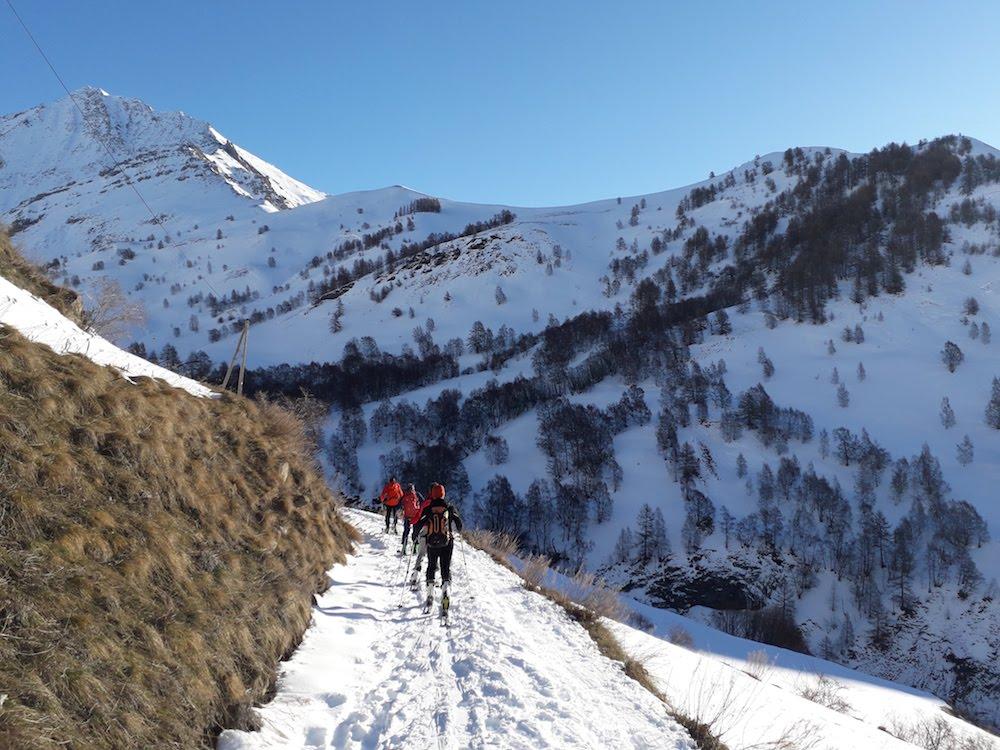 un hiver sur les ski