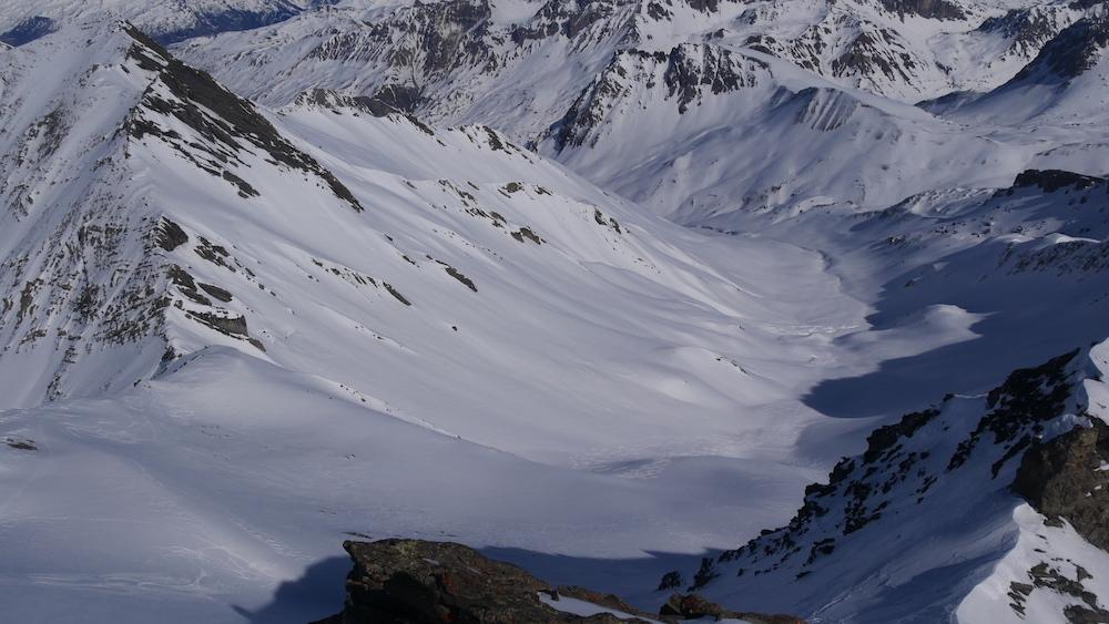 raid à ski Goléon