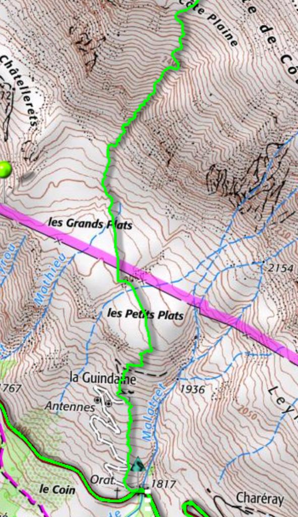 itinéraire 3 Évêchés