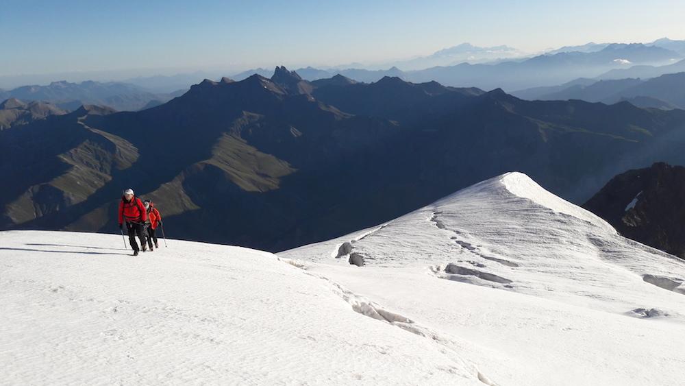 le Grand Tour des Écrins par les glaciers