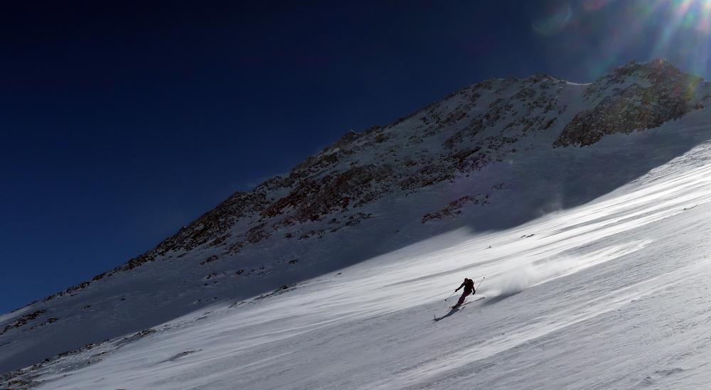 randonnée à ski au refuge du Goléon