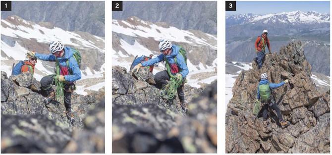 de la randonnée alpine à l'alpinisme facile