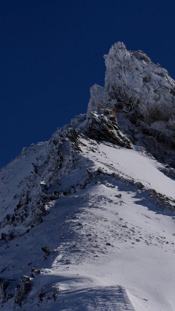 L'arête de Puy Golèfre