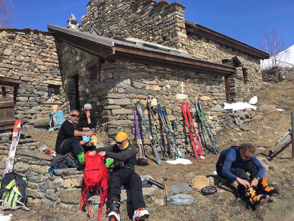 ski de randonnée au Goléon