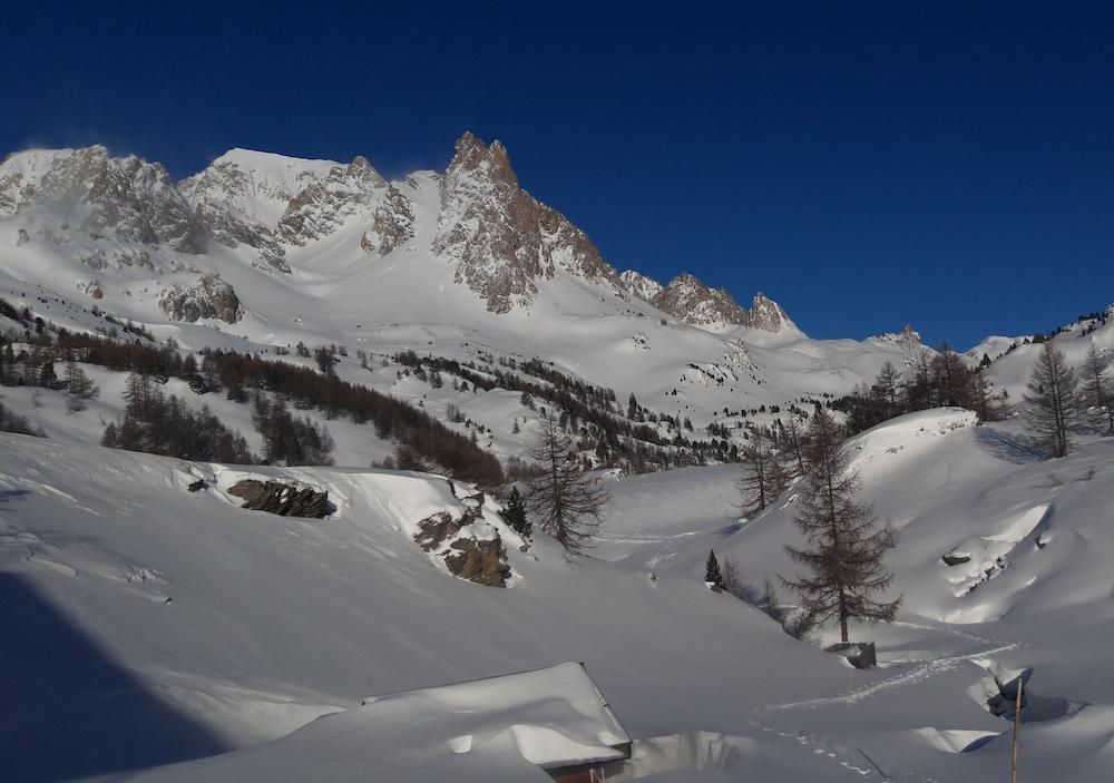initiation au ski de randonnée dans les cerces