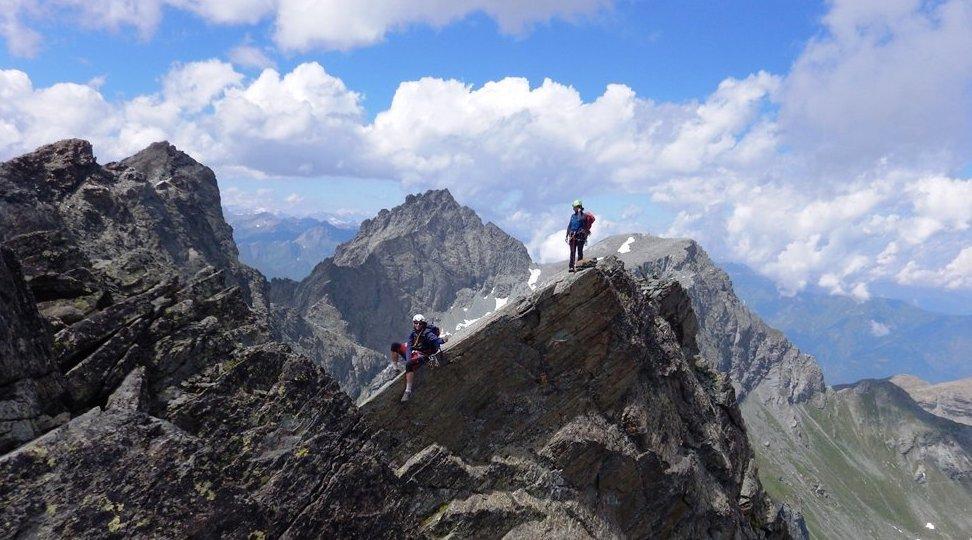 escalade montagne au viso